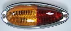 356AT2/B/C (from -57) European version tail light complete left, original Porsche