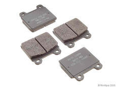 911 (75-83) Brake pad set for the front axle, for the A-calipers. Mounted on non-Turbo models.