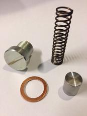356 Pre-A/A (untill engine nr 67000/81200) Oil pressure valve set