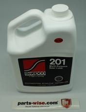 SWEPCO 201 Gallon (80W-90) is mainly used in cars that drive from March until October, in cars in warmer countries and for race and rally usage. 1 Gallon = 3.785 Liter. SWEPCO has multiple gear oils that are suitable for limited slip diff, bronze synchrom