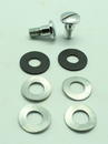All 356 Rear seat backrest bolt kit