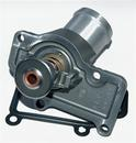 Thermostat housing with thermostat which opens at 70ºC, can be mounted on Boxster (97-08), 996 (98-05), 997 (05-08) Cayman (06-08) GT3-1 (00). Comes with gasket